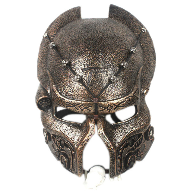 31cm Alien Hunter Resin Mast Cosplay Mask