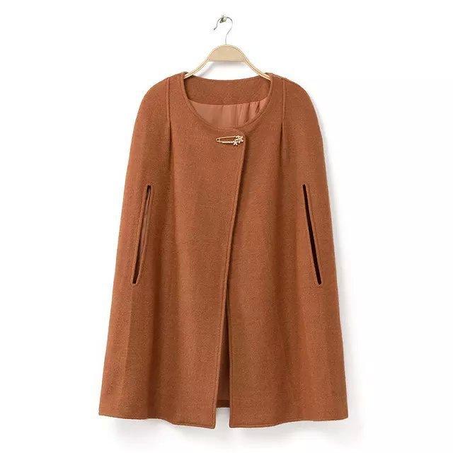 Popular Black Cape Coat-Buy Cheap Black Cape Coat lots from China