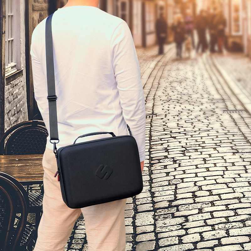 Smatree ل التبديل حالة تعزية يحمل حالة ل Nintend التبديل حالة حقيبة كتف حقائب ل NS صندوق تخزين حقيبة حمل