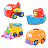 Boxed Inertia Car Kits Traffic Team Boat Train Toys Ehicle Clockwork Wind Up Toy For Children