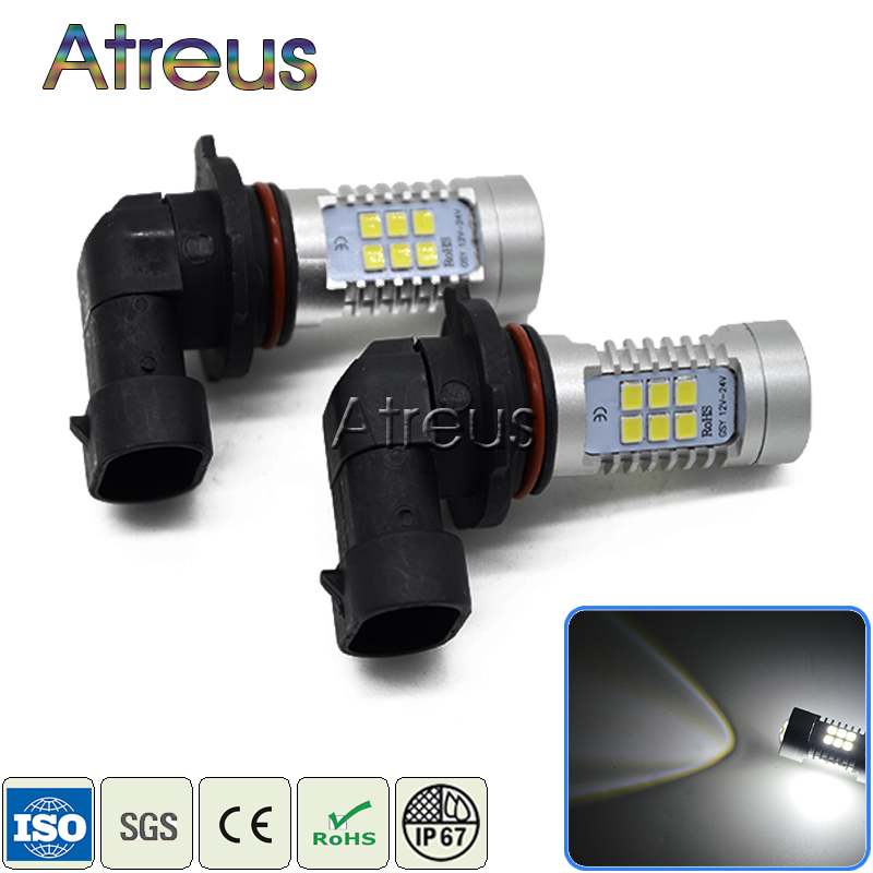 2X Car LED 9006 1156 1157 H4 H7 H11 21SMD DRL Fog Lights 12V with Lens For Volkswagen VW Polo Passat B5 B6 B7 CC GOLF 4 5 6 7 2x 9006 hb4 led projector fog light drl 12w no error for volkswagen golf 6 mk6 2011 2012 scirocco 08 on t5 transporter 2003 2016