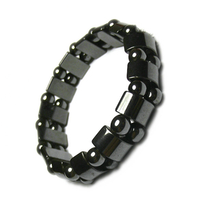 Image 2 - Magnetic therapy Health care Loss Weight Effective Black Stone Bracelets slimming Stimulating Acupoints  Arthritis Pain Relief