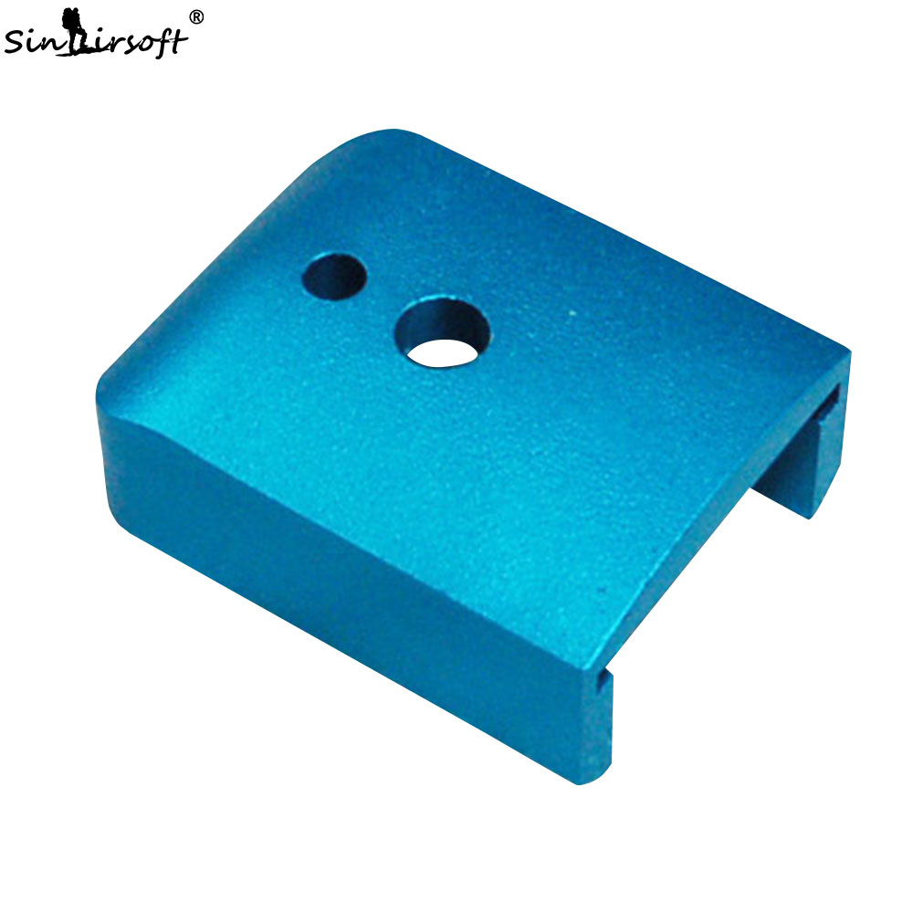 SINAIRSOFT IPSC Aluminum Magazine Base For GBB Airsoft Marui Hi-capa 5.1 IPSC Game SA5402