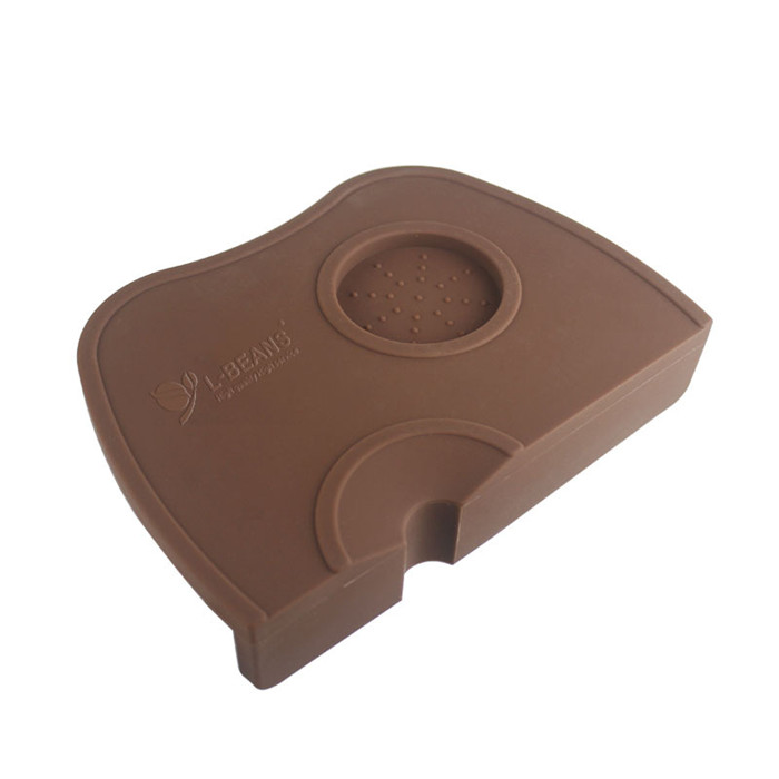 Hot High Quality Espresso Coffee tamper mat Silicon corner mat no coffee stamper 21x15x4 5cm