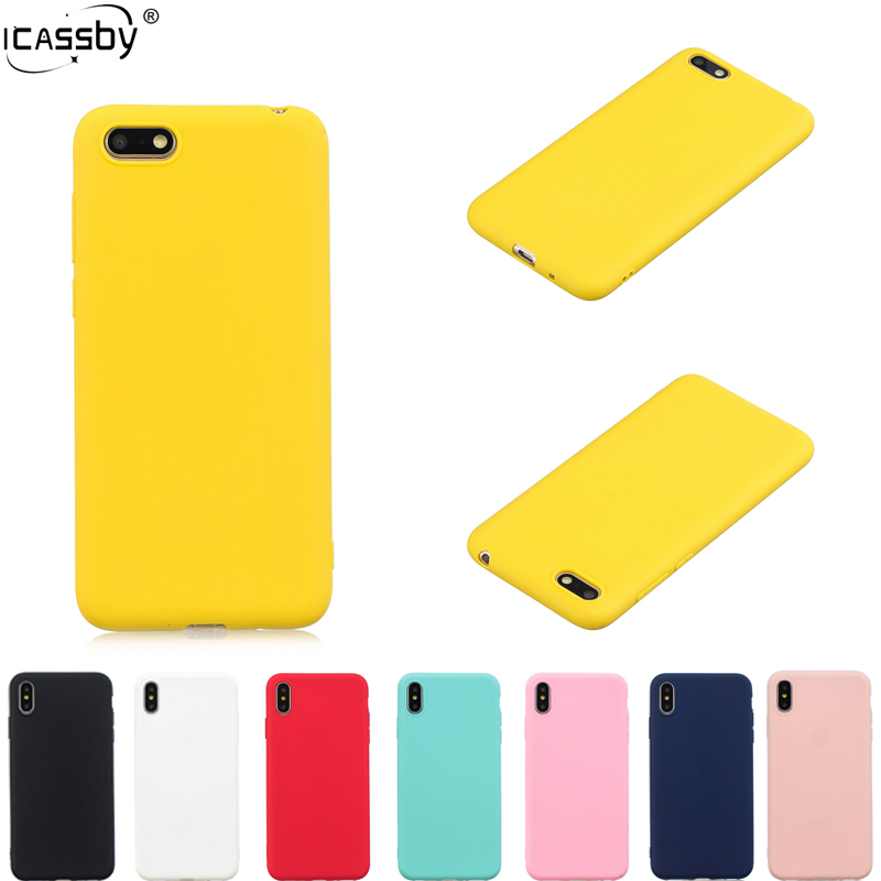 <font><b>Case</b></font> For <font><b>Huawei</b></font> Y5 <font><b>2018</b></font> Rubber Silicone Candy Color Soft TPU Back <font><b>Phone</b></font> Cover For Coque <font><b>Huawei</b></font> Y5 <font><b>2018</b></font> Huwawei <font><b>Y</b></font> <font><b>5</b></font> <font><b>2018</b></font> <font><b>Case</b></font> image