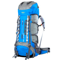 70L Nylon Waterproof Rucksack CR System Outdoor Professional Mountaineering Bag Camping Hiking Outdoor Backpack Portable