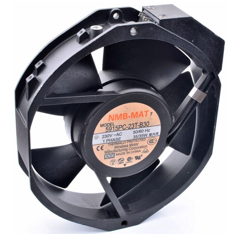 Tout nouveau original 5915PC-23T-B30 172x150x38mm 230 V 35 W armoire industrielle en métal axial ventilateur de refroidissement