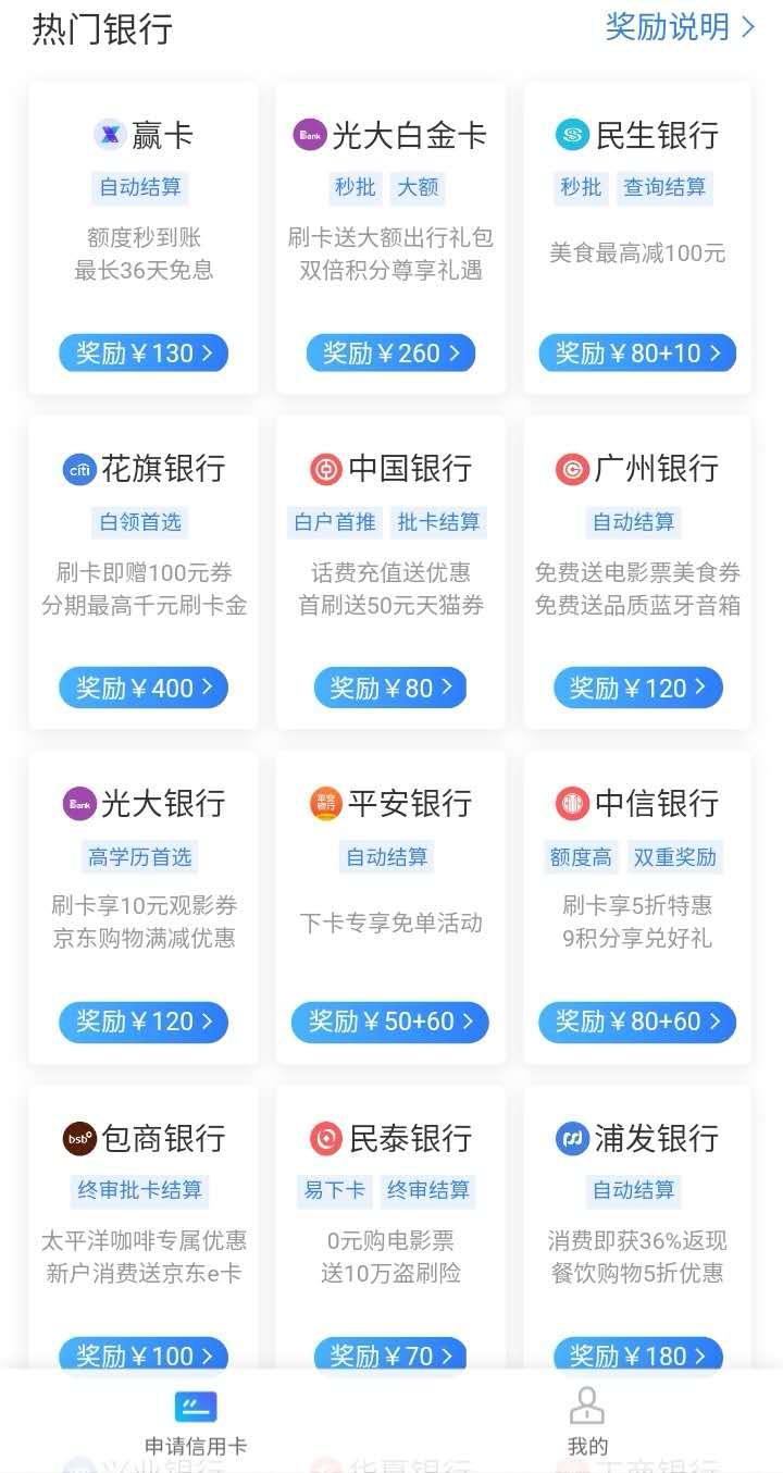 0元创业平台——免费申请信用卡,推广信用卡赚钱 - 第1张  | 爱淘数字资源馆