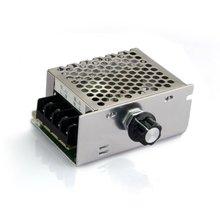 Qualidade de Tensão Regulador do Controlador Dimmer plus Shell Alta Regulador de Tensão do Controlador Velocidade SCR AC 220 V 4000 W