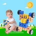 Холодный Деревянный Трансформатор Игрушки Изменения Для Многих Типов Формы Творческие Образовательные Детские Игрушки Новая Версия Дизайн Случайный Цвет