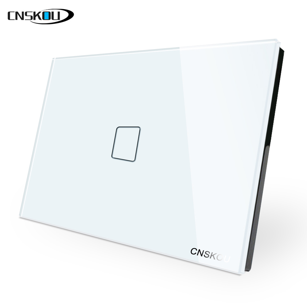us  au standard smart home 1 gang 1 way touch light switch
