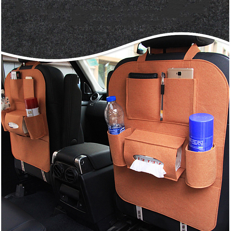XYWPER Car Seat Bag Universal Box Back Seat Bag Organizer Backseat Holder Pockets Car-styling Protector Auto Accessories genuine leather car storage bag organizer universal back seat bags backseat trunk travel holder box pockets protector for kids