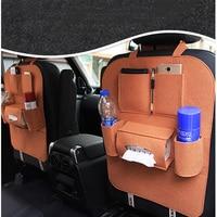 Xywper 자동차 좌석 가방 유니버설 박스 뒷 자석 가방 주최자 뒷좌석 홀더 포켓 자동차 스타일링 수호자 자동차 액세서리|car seat bag|car organizer accessoriesorganizer bags accessories -
