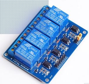 5V 4 Channel Relay Module With Light Coupling For  PIC ARM DSP AVR Raspberry Pi B58