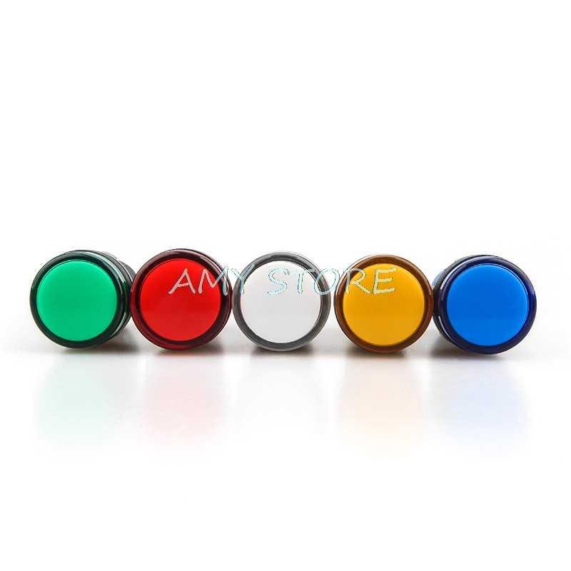 1Pc 22 ミリメートル AD16-22DS インジケータパイロット信号ライトランプ電源作業 6.3V 12V 24V 36V 48V 110V 220V 380V 赤青緑黄白