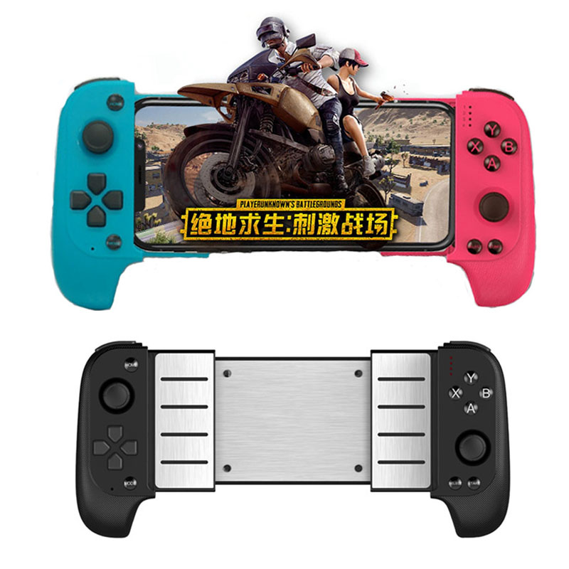 Telescopic Wireless Bluetooth Gamepad Controller Joystick for iPhone IOS Android for Samsung Xiaomi Huawei Mobile PUBG