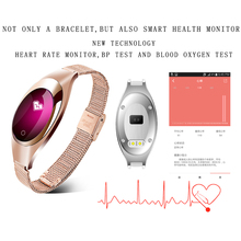 Women Smart Watch Heart Rate Monitor Blood Pressure Pedometer