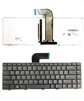 New Genuine for Dell XPS 15 L502X, For Inspiron 14z N411Z 14Z N411Z Backlit Laptop Keyboard