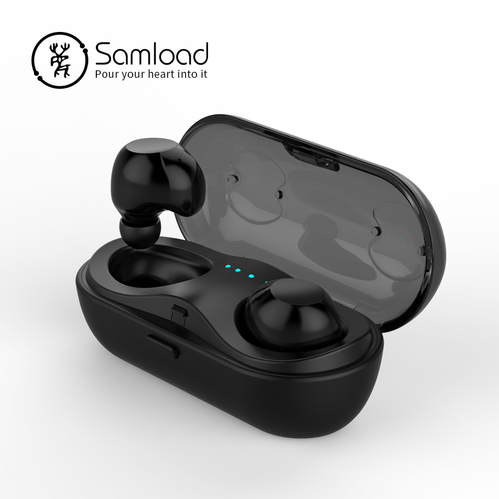 Touch control Bluetooth Earphons Earbuds Wireless Music Headphone with Charging Box For Apple iPhone6 7 Samsung Xiaomi headset sports bluetooth 5 0 earbuds stereo earphones fitness music headset with charging case for iphone6 7 8 se xiaomi huawei earpiec
