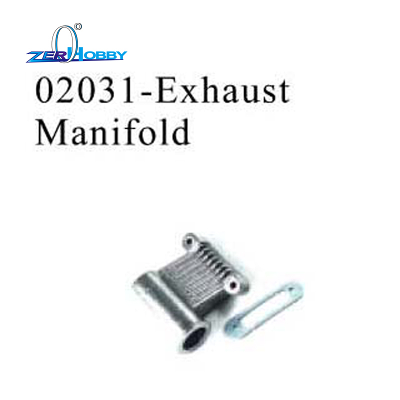 RC CAR SPARE PARTS EXHAUST MANIFOLD FOR HSP 1 10 NITRO ON ROAD RACING CAR 94177 part no 02031 in Parts Accessories from Toys Hobbies