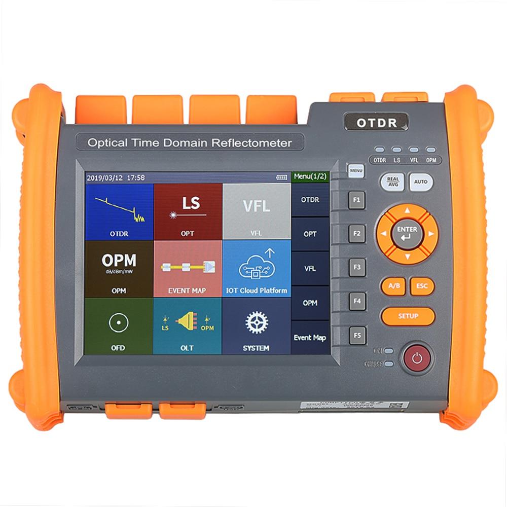NOVKER NK5600-modo OTDR/30/32dB 1310/1550nm con VFL OPM fuente de luz de fibra óptica OTDR