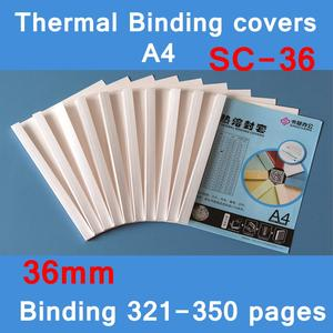 Glue Cover Thermal-Binding-Covers 10pcs/Lot 36mm A4 320-350-Pages SC-36