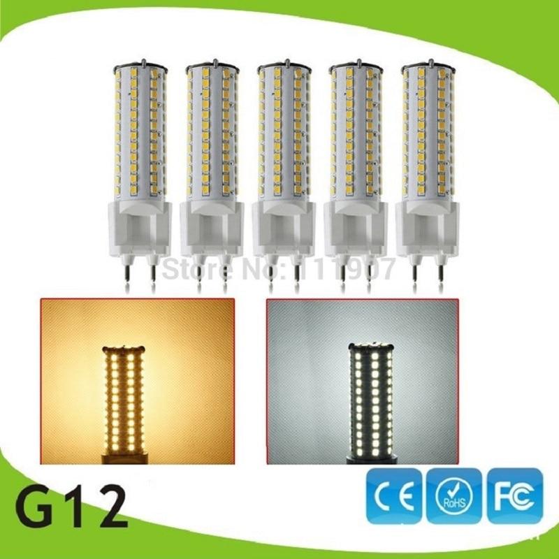 5pcs/Lot G12 Socket 12W 81LEDs 360 Degree SMD2835 Warm White/Cool White LED Corn Light Lamp Bulb G12 LED Wholesale бра leds c4 balmoral 05 2814 81 05