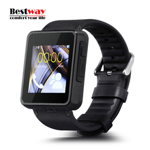F1 Bluetooth Smart Watch Phone Sim-karte/Sync Tracker Smartphone Call Touchscreen Smartwatch Armbanduhr mit Kamera Pedometer