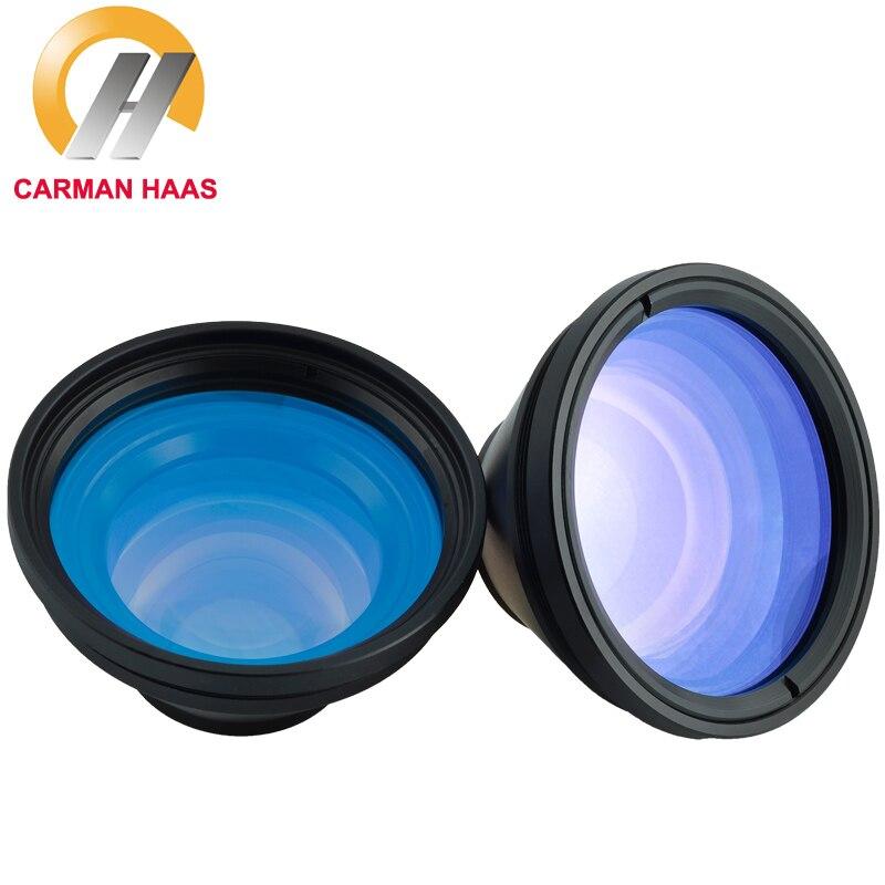 CARMANHAAS 1064nm Fiber Scanner Laser F Theta Lens Scan Lens For Laser Marking Machine 50*50mm 70*70mm FL 80mm 100mm