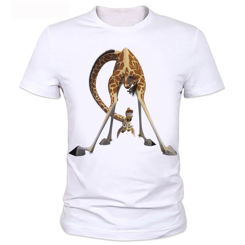 Giraffe 3d t shirt men originality summer cute shirt good for Cute summer t shirts