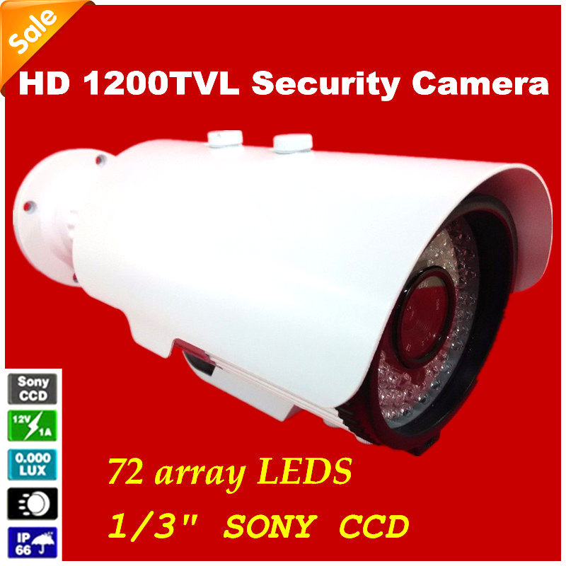 ФОТО NEW HD 1200TVL CCTV Camera 1/3