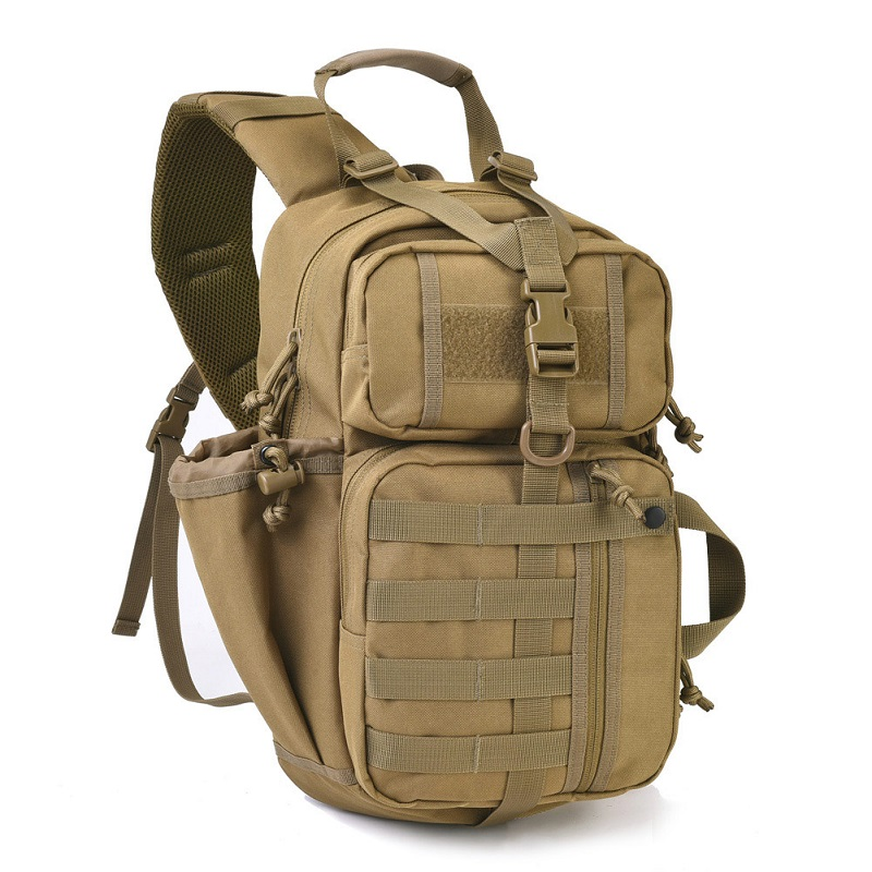 REEBOW TACTICAL EDC Assault Sling Pack Military Molle Hunting Range Shoulder Sling Bug Out Bag Everyday