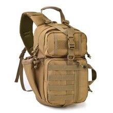 Eebow тактический EDC штурмовой слинг пакет военный Molle охотничий диапазон плеча слинг ошибка сумка каждый день носить рюкзак