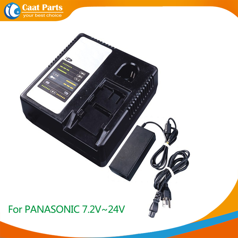 Power Tool Battery Chargers for PANASONIC 7.2V-24V Ni-CD, Ni-MH and Li-ion battery, Including external adaptor as power supply for bosch 24v 3000mah power tool battery ni cd 52324b baccs24v gbh 24v gbh24vf gcm24v gkg24v gks24v gli24v gmc24v gsa24v gsa24ve