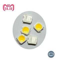 100 шт. samsung 3228 светодио дный SMD ТВ Подсветка 3 В 1 Вт 250ma светодио дный Бусы Холодный белый для samsung SPBWH1320S1EVC1B1B Бесплатная доставка