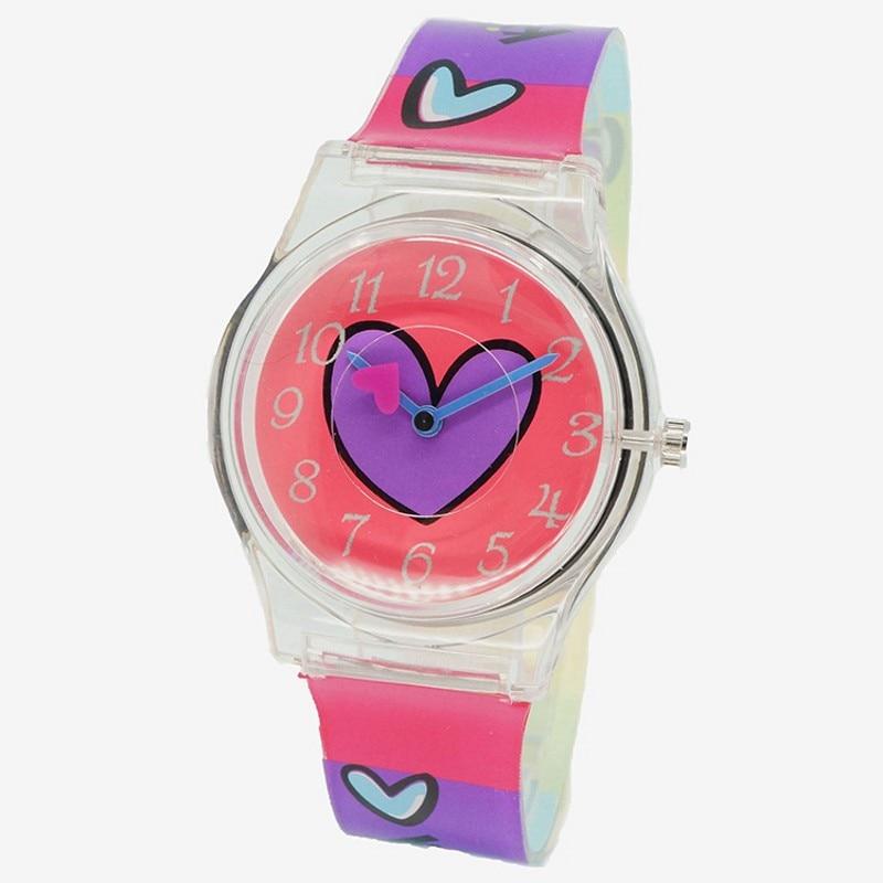 New Fashion Simple Rabbit Boys Girls Sports Watch Waterproof Silicone Students Watch Water Resistant Children Quartz Watch Clock