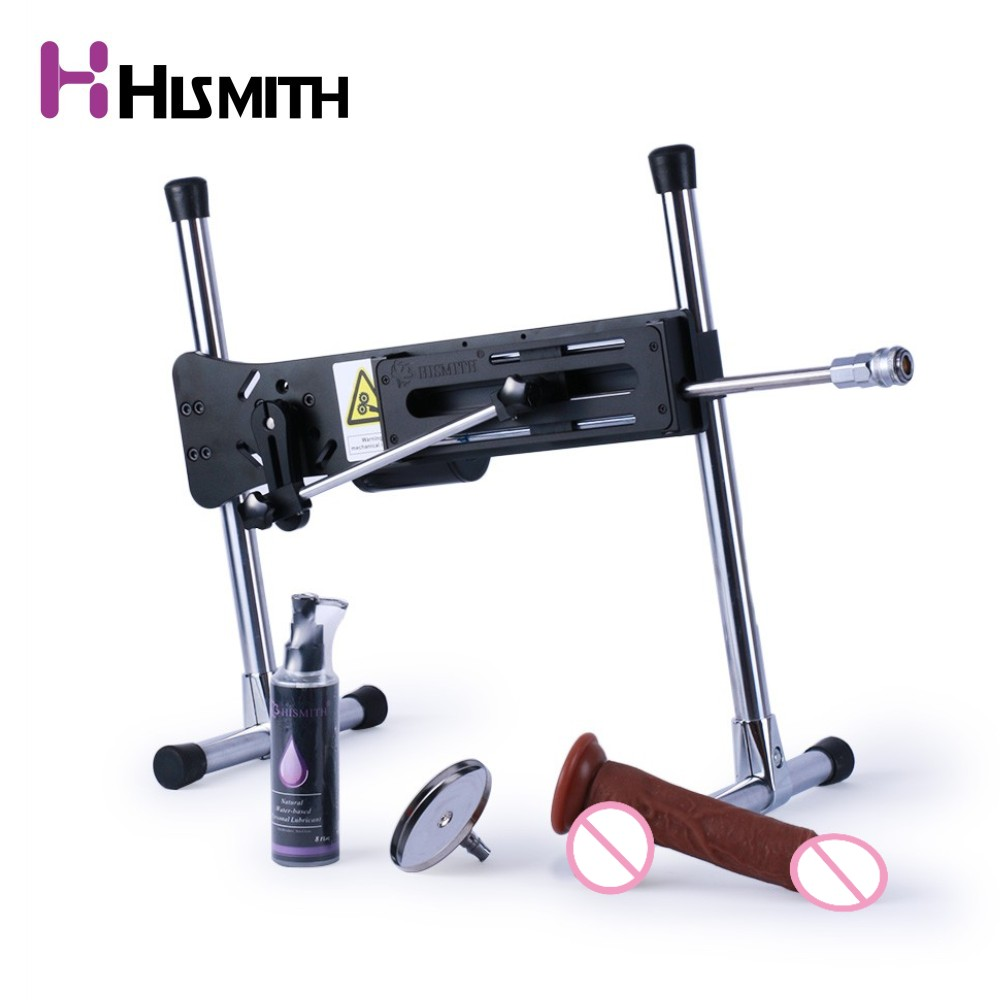 HISMITH Super Quiet Premium Sex Machine 30db Mute updated edition wire controlled dildo machine Turbo Gear Power 120W sex toys hismith premium sex machine free installation vac u lock wire controlled pumping thrusting adjustable love machine free dildo