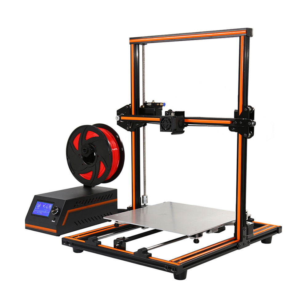 Anet E12 Aluminum Alloy Frame 3D High Precision Double Z-axis DIY Printer Print Size 300*300*400 mm 3D Printers With 8G TF Card double print frame