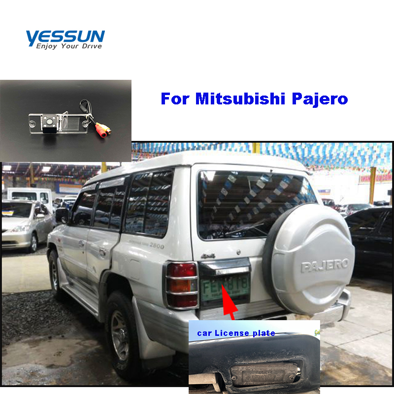 Yessun Car License Plate Rear Camera For Mitsubishi Pajero Car View Camera Parking Assistance