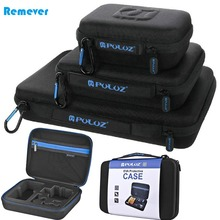 Waterproof Portable Carrying and Travel Case for Gopro Cameras Mini Camera Accessories Storage Bag For Gopro HERO4/3+/3/2/1 anjirui waterproof storage carrying bag travel case for gopro hero sessions 4 4 3 3 2 1 xiaomiyi action camera case accessories
