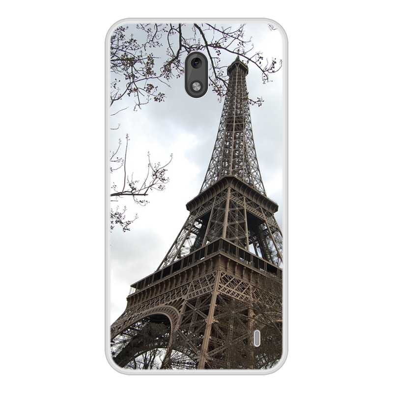 Case for Nokia 2 Soft Silicone TPU Chic Pattern Painting Cover for Nokia2 Phone Cases