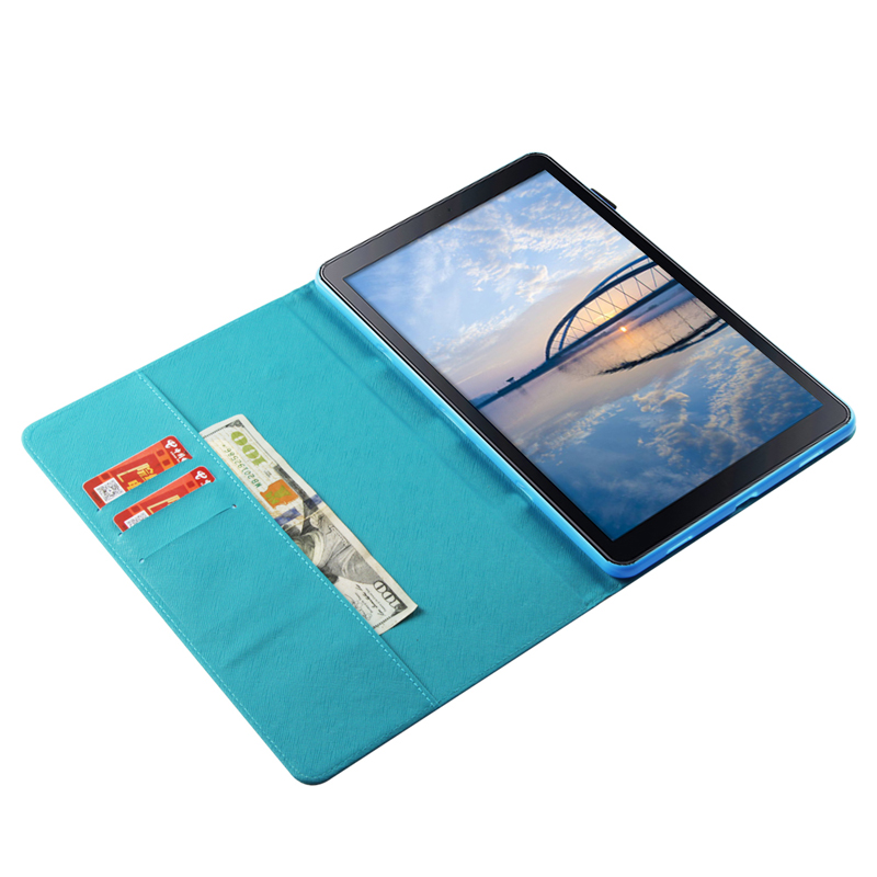 Tablet T590 T595 Funda For Samsung Galaxy Tab A 10 5 2018 Fashion Mandala Leather Flip Wallet Case Cover Coque Shell Skin Stand in Tablets e Books Case from Computer Office