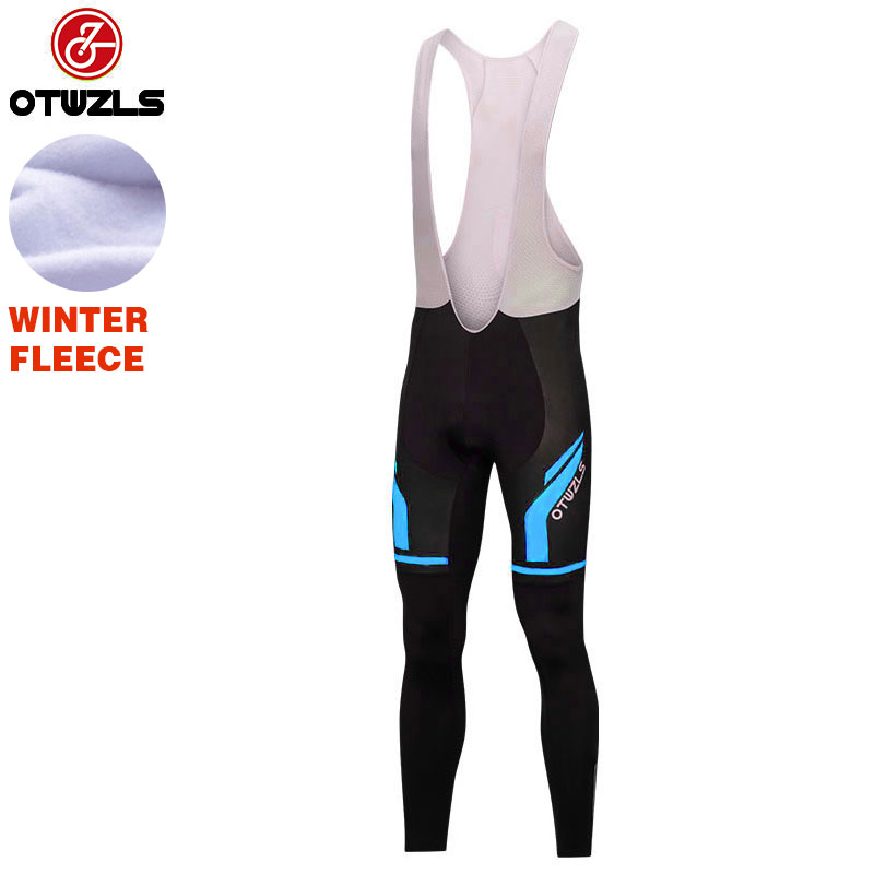 2018 Cycling Bib Pants Winter Thermal Fleece Men MTB Bike Bib Tights Ropa Ciclismo Pantalones Trousers Cycling Pants Clothing