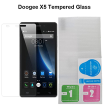 DOOGEE X5 X5S Nano-coated Tempered Glass Scratch proof Screen Protector Front Film for DOOGEE X5 DOOGEE X5 PRO Mobile Phone