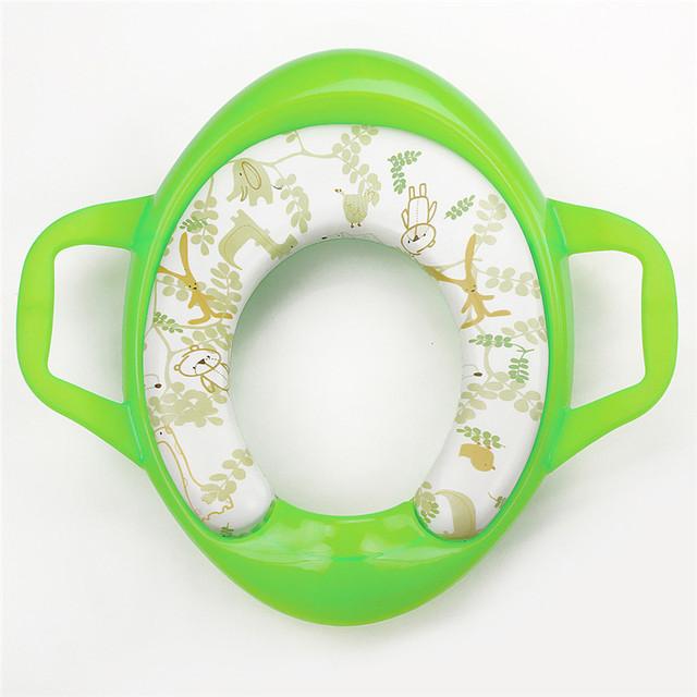 Cadeira de criança dobrável portátil para levar higiênico bacio bebé Crianças Infantil Confortável Assento Treinamento Do Toalete Penicos Dobráveis