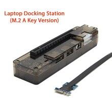 NGFF PCI E إصدار PCIe PCI E V8.4D EXP GDC محطة إرساء الكمبيوتر المحمول/بطاقة فيديو خارجية للكمبيوتر المحمول قفص الاتهام