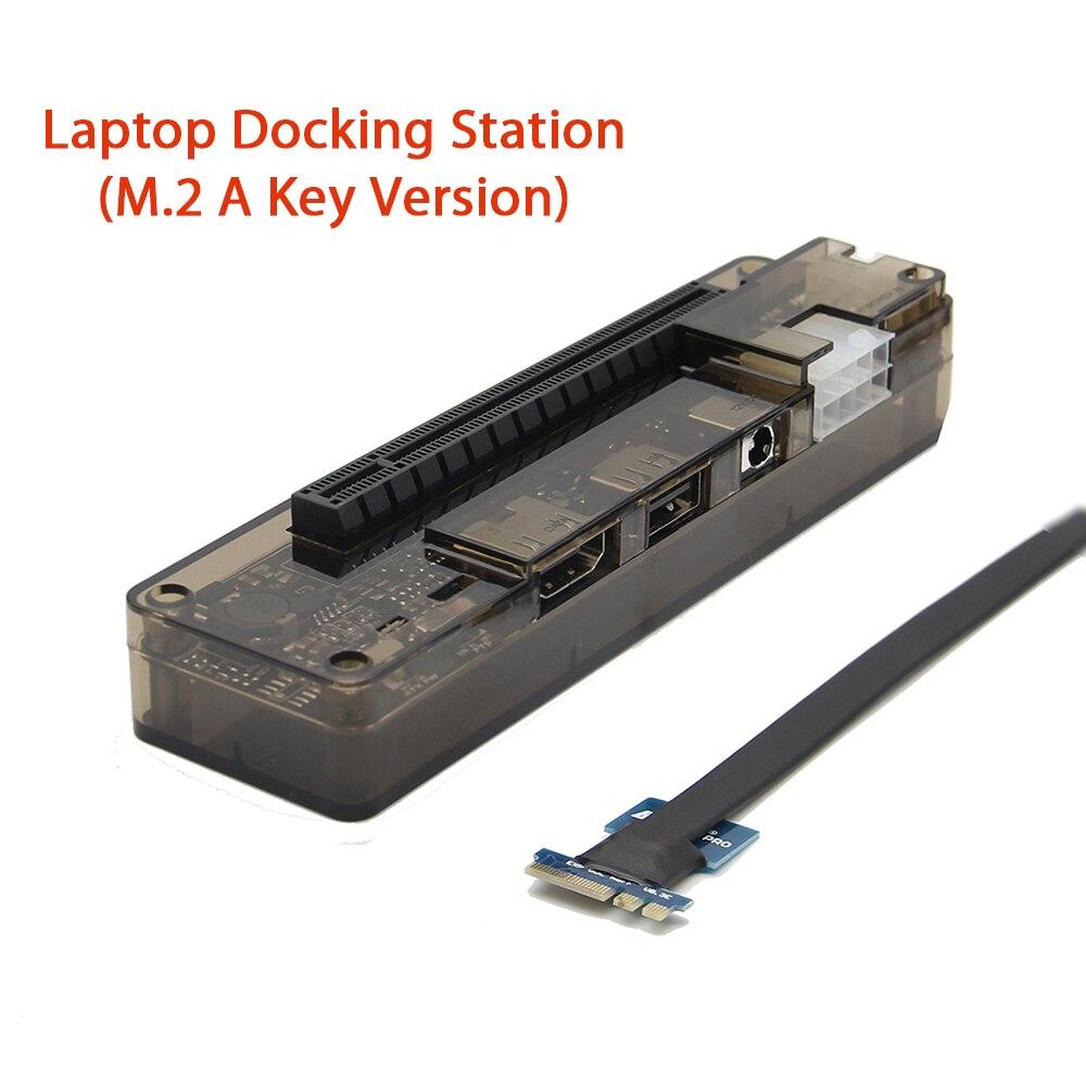 NGFF PCI-E Version PCIe PCI-E V8.4D EXP GDC Station d'accueil pour ordinateur portable/Dock de carte vidéo pour ordinateur portable externe
