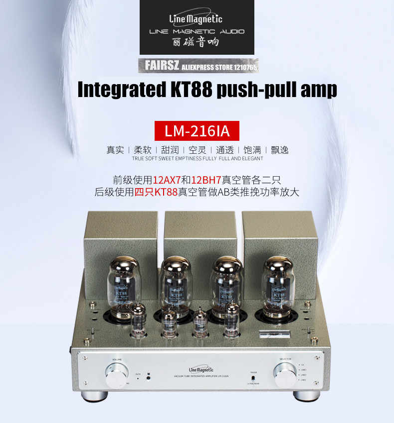 Detail Feedback Questions about Line magnetic Tube Amplifier LM