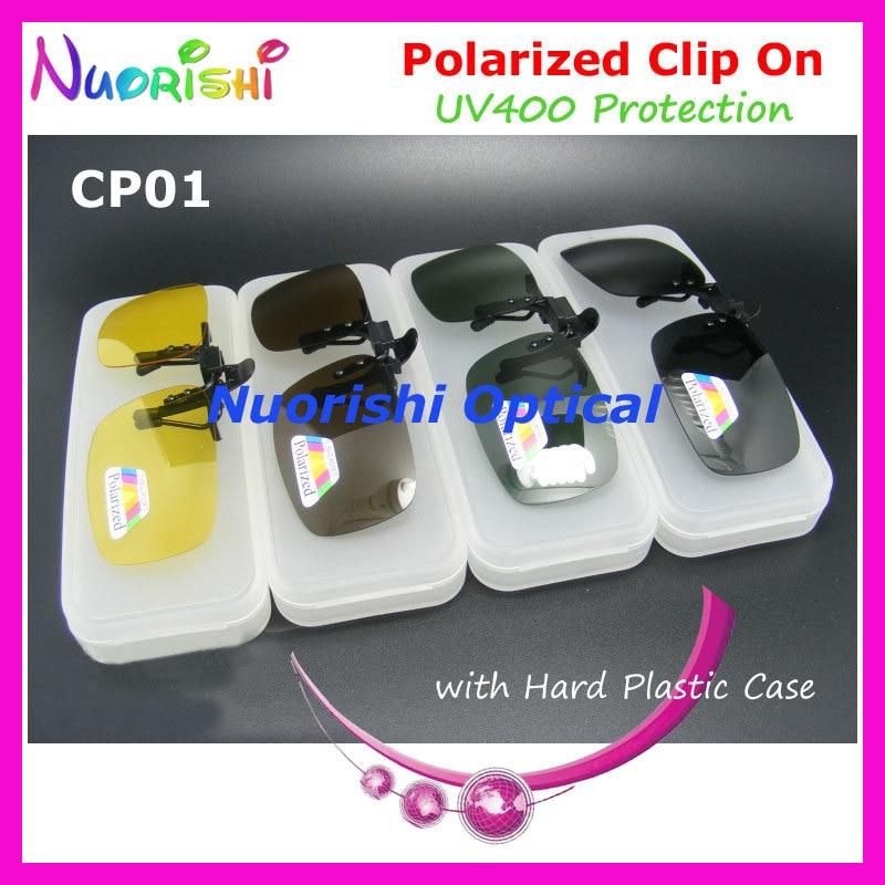 G15 marrom preto óculos óculos polarizados TAC UV400 clipe lente de óculos  de sol de plástico CP01H 3b541d033e