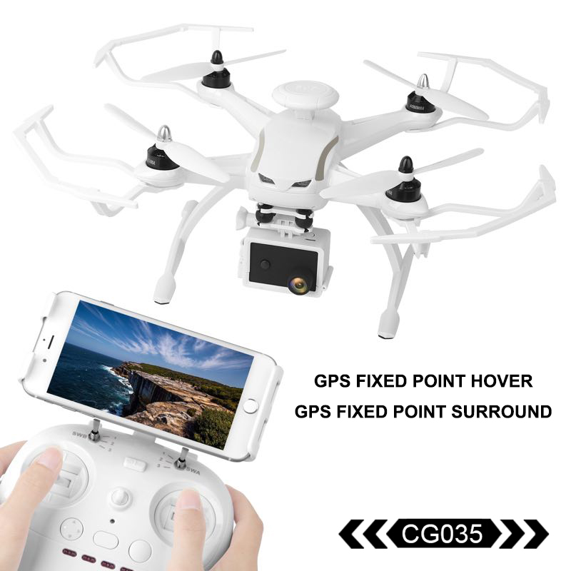 AOSENMA CG035 RC Helicopter WIFI Drone with Camera HD 1080P Quadcopter Gimbal GPS Brushless Motor Optical Flow Positioning